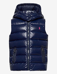 Ralph Lauren Kids - POLY PLAINWEAVE-CHANNEL VEST-OW-VST - vests - french navy - 0