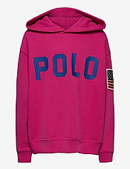 Ralph Lauren Kids - Logo Fleece Hoodie - hoodies - college pink - 0