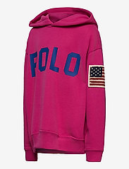 Ralph Lauren Kids - Logo Fleece Hoodie - hoodies - college pink - 2