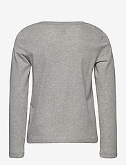 Ralph Lauren Kids - Cotton Jersey Long-Sleeve Logo Tee - long-sleeved t-shirts - spring heather - 1
