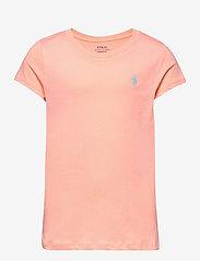 Ralph Lauren Kids - Cotton Jersey Tee - short-sleeved - deco coral - 0