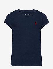 Ralph Lauren Kids - Cotton Jersey Tee - short-sleeved - newport navy/c387 - 0