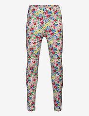 Ralph Lauren Kids - Floral Stretch Jersey Legging - leggings - red multi - 0