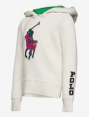 Ralph Lauren Kids - Big Pony Hooded Cotton Sweater - pulls à capuche - trophy cream mult - 2