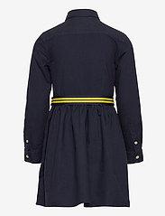 Ralph Lauren Kids - Belted Cotton Oxford Shirtdress - dresses - rl navy - 1