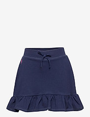 Ralph Lauren Kids - Ruffled Stretch Mesh Skort - skirts - french navy/hint - 0