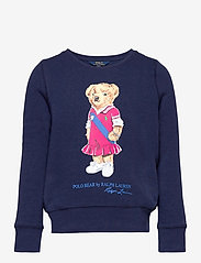 Ralph Lauren Kids - Polo Bear Fleece Sweatshirt - sweatshirts - newport navy - 0