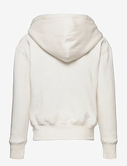 Ralph Lauren Kids - Floral-Pony Fleece Hoodie - hoodies - trophy cream - 1
