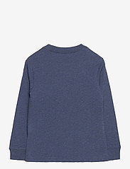 Ralph Lauren Kids - Cotton Jersey Long-Sleeve Tee - long-sleeved t-shirts - fresco blue hthr - 2