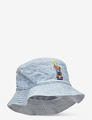 Ralph Lauren Kids - CHAMBRAY-RVRS BUCK HT-AC-HAT - kapelusz przeciwsłoneczny - chambray - 0