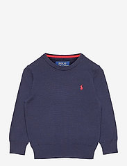Cotton Crewneck Sweater - RL NAVY