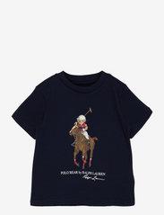 Polo Bear & Big Pony Cotton Tee - FRENCH NAVY