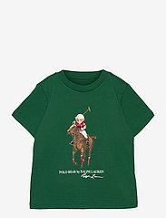 Polo Bear & Big Pony Cotton Tee - VERANO GREEN