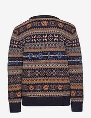 Ralph Lauren Kids - Bear Fair Isle Sweater - neuleet - rl navy multi - 1