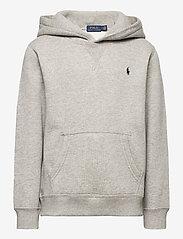 Ralph Lauren Kids - Cotton-Blend-Fleece Hoodie - pulls à capuche - dark sport heathe - 0