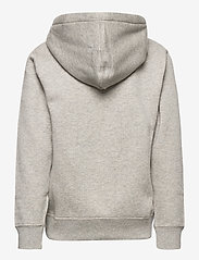 Ralph Lauren Kids - Cotton-Blend-Fleece Hoodie - pulls à capuche - dark sport heathe - 1