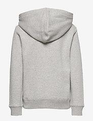 Ralph Lauren Kids - Flag Logo Fleece Hoodie - pulls à capuche - andover heather - 1