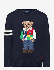 Ralph Lauren Kids - COTTON-LS CN-TP-SWT - knitwear - rl navy - 0
