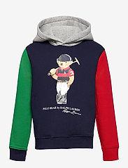 Ralph Lauren Kids - Polo Bear Fleece Hoodie - pulls à capuche - cruise navy multi - 0