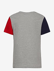 Ralph Lauren Kids - 26/1'S JERSEY-SS CN-TP-TSH - short-sleeved - andover heather m - 1
