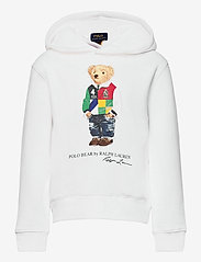 Ralph Lauren Kids - Polo Bear Fleece Hoodie - hoodies - white - 0