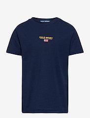 Ralph Lauren Kids - Polo Sport Cotton Jersey Tee - pattern short-sleeved t-shirt - cruise navy - 0