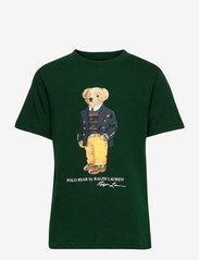 Polo Bear & Big Pony Cotton Tee - COLLEGE GREEN