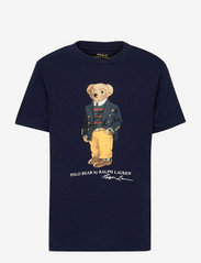 Polo Bear & Big Pony Cotton Tee - CRUISE NAVY
