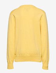Ralph Lauren Kids - Cotton Crewneck Sweater - knitwear - oasis yellow - 1