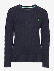 Ralph Lauren Kids - Cable-Knit Cotton Sweater - knitwear - rl navy - 0