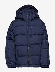 Ralph Lauren Kids - Hooded Down Jacket - untuva- & toppatakit - french navy multi - 1