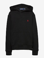 Ralph Lauren Kids - Cotton-Blend-Fleece Hoodie - hoodies - polo black - 0
