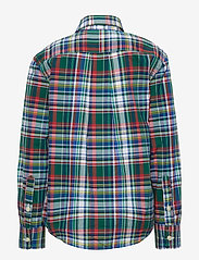 Ralph Lauren Kids - Plaid Cotton Poplin Shirt - paidat - green/red multi - 1