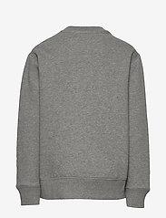 Ralph Lauren Kids - Cotton-Blend-Fleece Sweatshirt - sweatshirts - dark sport heathe - 1