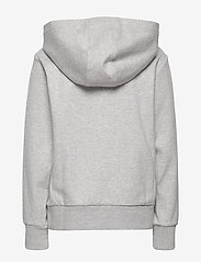 Ralph Lauren Kids - Double-Knit Graphic Hoodie - hoodies - lt grey heather - 1