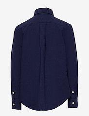 Ralph Lauren Kids - Cotton-Blend Shirt - shirts - newport navy - 1