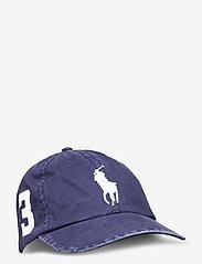 Ralph Lauren Kids - Big Pony Chino Baseball Cap - caps - newport navy - 0