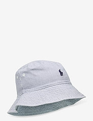 Ralph Lauren Kids - CHAMBRAY-RVRS BUCK HT-AC-HAT - kapelusz przeciwsłoneczny - chambray - 2