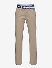 Ralph Lauren Kids - Belted Stretch Skinny Chino - bukser - classic khaki - 0