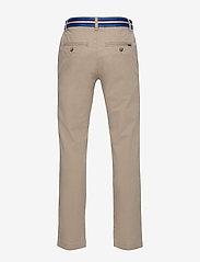 Ralph Lauren Kids - Belted Stretch Skinny Chino - bukser - classic khaki - 1