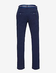 Ralph Lauren Kids - Belted Stretch Skinny Chino - trousers - newport navy - 1