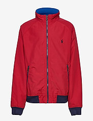 Ralph Lauren Kids - Water-Resistant Windbreaker - bomber jackets - rl 2000 red - 1