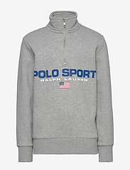 Ralph Lauren Kids - Polo Sport Half-Zip Sweatshirt - sweatshirts - andover heather - 0