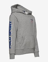 Ralph Lauren Kids - Polo Sport Fleece Hoodie - pulls à capuche - andover heather - 2