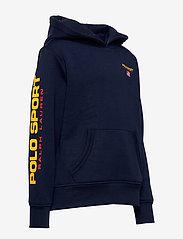 Ralph Lauren Kids - Polo Sport Fleece Hoodie - hoodies - cruise navy - 2