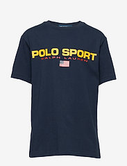 Ralph Lauren Kids - Polo Sport Cotton Jersey Tee - short-sleeved - cruise navy - 0