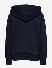 Ralph Lauren Kids - Football Bear Fleece Hoodie - hoodies - newport navy - 1