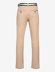 Ralph Lauren Kids - Belted Super Skinny Stretch Chino Pant - trousers - classic khaki - 1