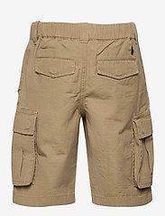 Ralph Lauren Kids - Cotton Ripstop Cargo Short - shorts - desert khaki - 1