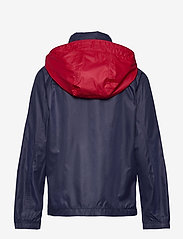 Ralph Lauren Kids - Water-Resistant Packable Hooded Jacket - jassen - newport navy/ rl2 - 1